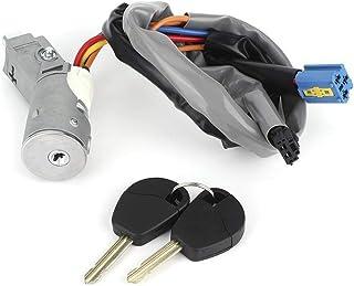 llave de bloqueo del interruptor de encendido de 4 hilos para 90cc 110cc 125cc 140cc 150cc 200cc 250cc Quad ATV Go Kart Pit Dirt Bike Scooter ciclomotor KIMISS Interruptor de llave de encendido