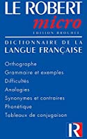 Le Robert Micro Poche(French Text) 2850364045 Book Cover