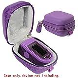 WGear Case for Zacurate Pro 500DL, Childrend: Innovo Deluxe, Santamedical 2. Facelake FL400 t. FL350: Vive Precision Spo2 Accumed cms-50dl, 50D1, Healthtree (Purple)