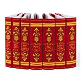 Juniper Books Harry Potter DUST Jackets ONLY Set - Gryffindor House Edition   Custom Duct Jackets for Your 7-Volume Hardcover Harry Potter Book Set published by Scholastic   Books NOT Included
