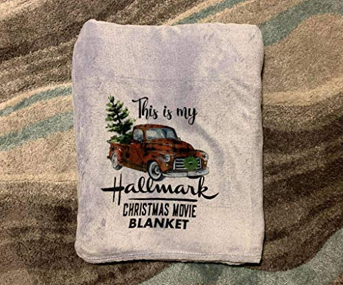 Handmade This Is My Hallmark Christmas Movie Blanket