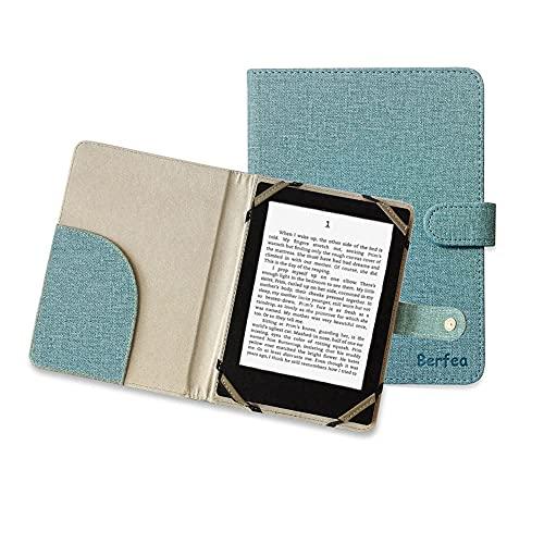 Funda para ebook de 6 pulgadas Universal para Lector de Libros Electrónicos Sony Tolino Kobo BQ Digma Woxter Onyx Boox Tesla eReader,Azul