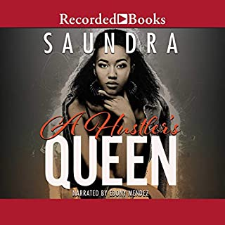 A Hustler's Queen audiobook cover art