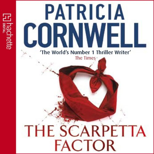The Scarpetta Factor audiobook cover art