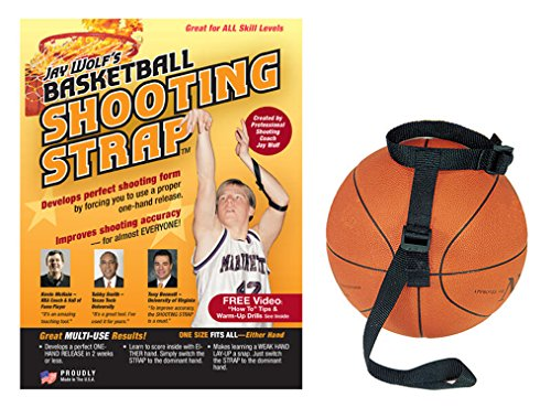 Jay Wolfs Basketball Shooting Strap Training Aid