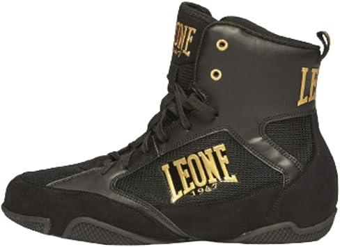 Leone 1947 Premium Unisex 43 Color Negro Botas de Boxeo para Adulto