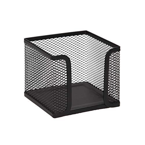 TTO Zettelbox aus Drahtmetall, Schwarz