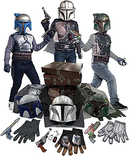 Imagine by Rubie's Star Wars Bounty Hunter Dress Up Trunk Set As Shown Small