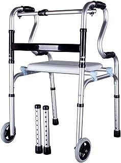 Anciano Walker Aleación de aluminio Heridas Muletas Equipo de ...