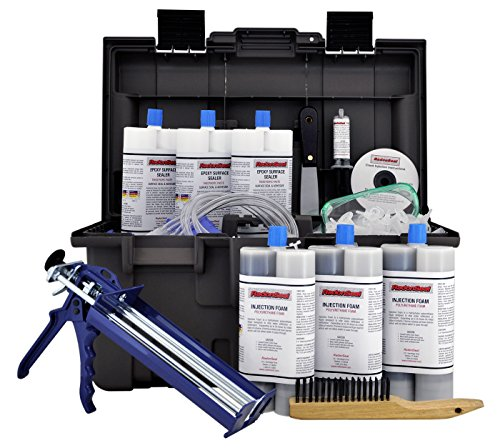 RadonSeal PRO Foundation Crack Injection Toolkit (30 ft) – The Professional Concrete Crack Repair...