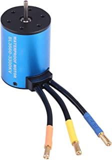 Zouminy Rcharlance 3660 Brushless Motor Suitable for 1/8 1/10 RC Remote Control Car(3300KV-Blue)
