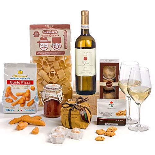Hay Hampers Gourmet Italian Dinner Hamper Box - FREE UK Delivery