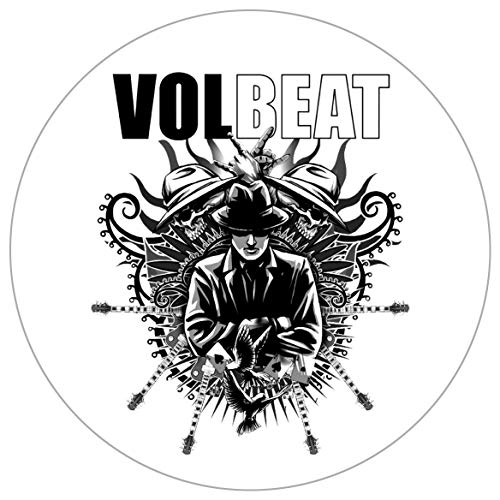 Volbeat Guitar Gangster Grey Autoaufkleber Sticker Aufkleber wasserfest