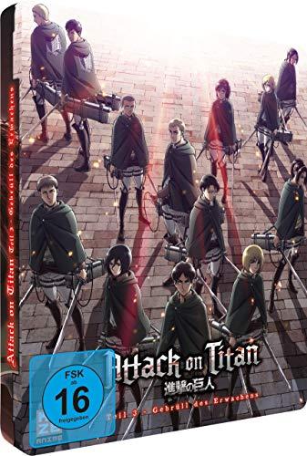 Attack on Titan - Anime Movie Teil 3: Gebrüll des Erwachens - [Steelcase] - [Blu-ray] - [Limited Edition]