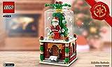 LEGO Exclusivo 40223 Limitada Set de Navidad 2016 - Set Bola de Nieve V29 a Partir de 7 años