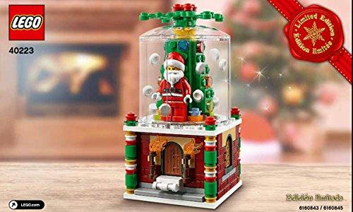 Lego 40223Schneekugel, Weihnachtsedition 2016