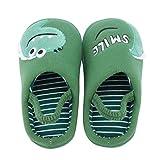 Hausschuh für den Kindergarten Babyhausschuhe Neugeborene Jungen Mädchen Cartoon Tier Babyhausschuhe Prewalker Schuhe Geschenk für Kinder aus Baumwolle Unisex Kleinkind Kinderhausschuhe rutschfest