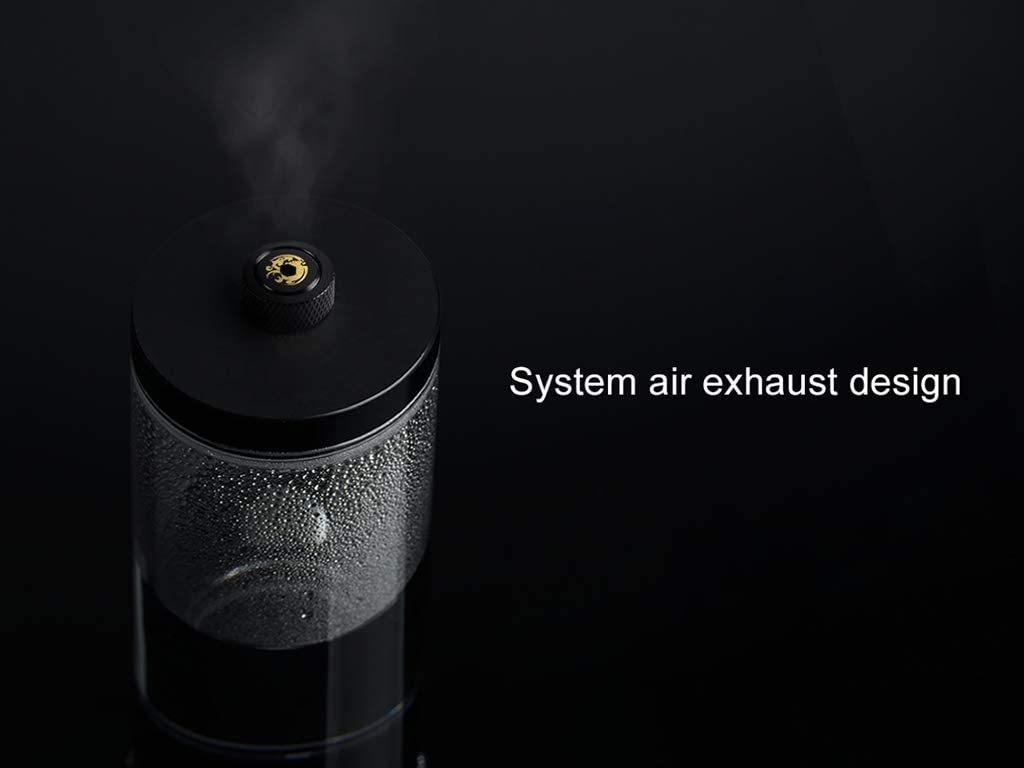 Matte Black Bitspower Automatic Air Exhaust Fitting