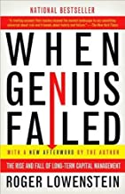 by oger Lowenstein When Genius Failed: The Rise and Fall of Long-Term Capital Management(text only)[Paperback]2001