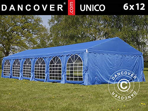 Dancover Partytent UNICO 6x12m, Blauw
