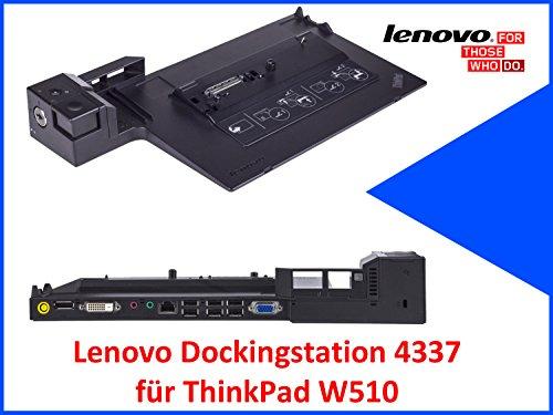 Original Lenovo Dockingstation 4337 für ThinkPad W510 ohne Schlüssel