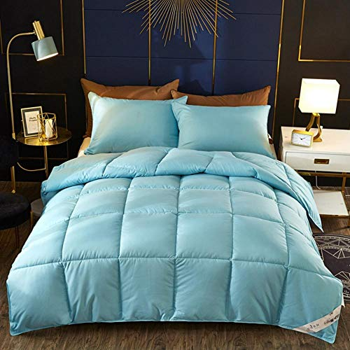 CHOU DAN As Silk Duvet,White Goose Down Padded Warm Winter Duvet Quilt. Single And Double Fall And Winter Are Comfortable And Breathable