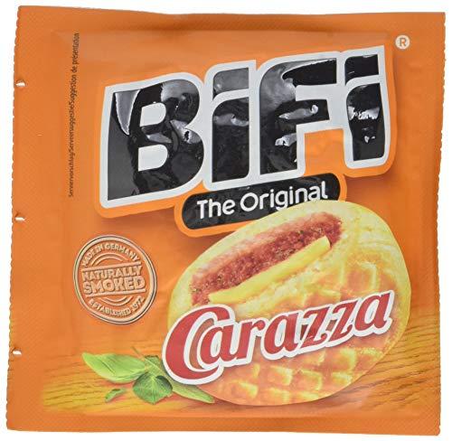 BiFi Carazza Original – Herzhafter Pizzasnack zum Mitnehmen – 30er Pack (30 x 40g)
