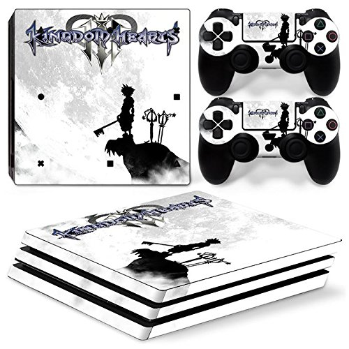 Photo of ZoomHit Ps4 PRO Playstation 4 PRO Console Skin Decal Sticker Kingdom Hearts + 2 Controller Skins Set (Pro Only)