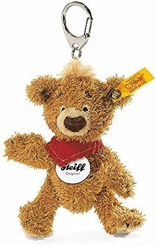 Steiff 11cm Knopf Teddy Bear Keybague (oren marron) by Steiff