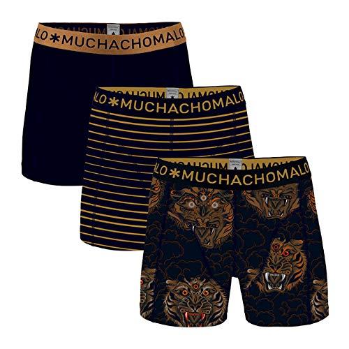 Muchachomalo Herren 3er Pack Shorts Third Eye, Größe:XL