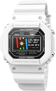 HBBOOI Reloj Bluetooth GPS Inteligente Impermeable con Heart Rate Monitor de sueño Contador de Paso de información de notificación de Llamadas Pulsera de Deportes for Mujeres Hombres