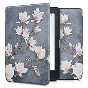 kwmobile Funda Compatible con Kobo Nia - para eReader - Magnolias