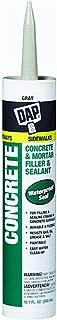 Dap 18096 10.1 oz. Concrete Waterproof Filler and Sealant, Gray (12 Pack)