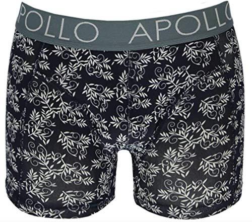 Apollo - boxershort heren - 2 pack - Blauw - Maat L
