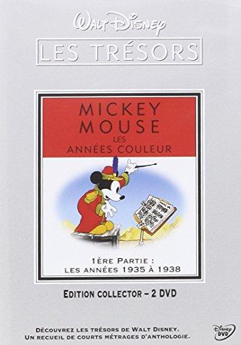 Mickey Mouse, couleur-1ère Partie : Les années 1935 à 1938 [Édition Collector-2 DVD]