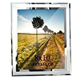 PETAFLOP 8x10 Picture Frames Real Glass for Photo Display Stand on...