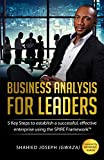 Business Analysis for Leaders: 5 Key Steps to Establish a Successful, Effective Enterprise Using the SPIRE Framework (English Edition)