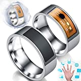 HYwot 2ST Arbeiten Sie Intelligenten Ringe, wasserdichte Multifunktions NFC Intelligent Digital Magic Ring Wear Finger Digitale Intelligent Ring Für Android-Fenster,11