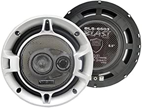 Absolute BLS-6503 Blast Series 6.5 Inches 3 Way Car Speakers 640 Watts Max Power