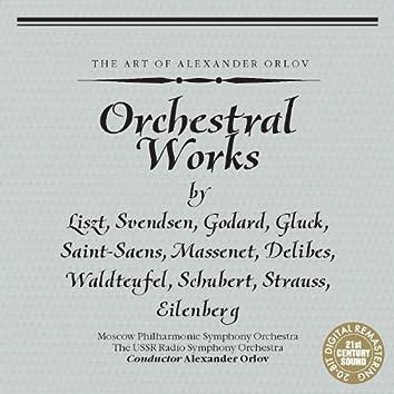 Orchestral works by Liszt, Svendsen, Godard, et al.