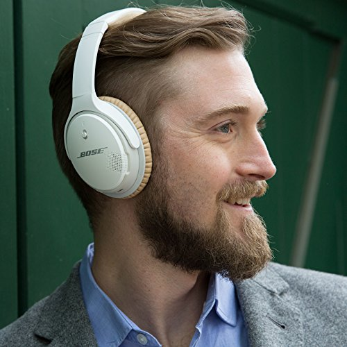 Bose® SoundLink ® II - Auriculares supraurales Bluetooth (con micrófono, control remoto integrado), blanco