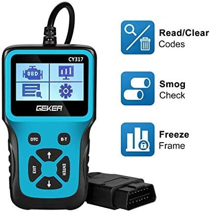 GEKER OBD2 Scanner Code Reader Diagnostic Tool Car Check Engine Light Handheld Car Code Reader product image