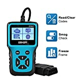 GEKER OBD2 Scanner Code Reader Diagnostic Tool Car Check Engine Light Handheld Car Code Reader OBD...