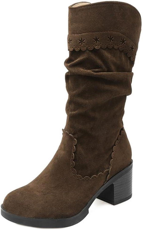 Cular Acci Women Block Heel Mid Boots
