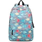 Teeya School Backpack for Teen Girl Middle School Bookbag Casual Travel Daypack