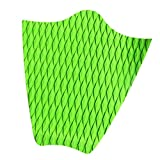 MagiDeal Diamond Grooved Non Slip EVA Dog Traction Pad Deck Grip Mat Tail Pad Trim Sheet Customizable for SUP, Surf, Stand Up Paddleboard, Longboard, Surfboard - Green
