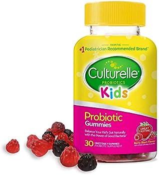 30-Count Culturelle Kids Daily Probiotic Berry Flavor Gummies