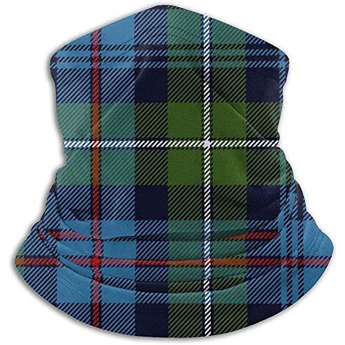 Randy-Shop Cache-Cou en Molleton - Mackenzie Highlander Tartan Ancient Colors Neck Gaiter Tube, Bandana, Mask