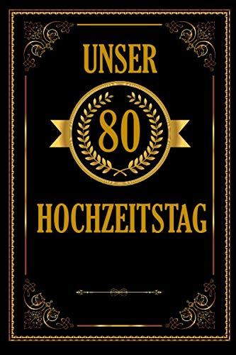 Unser 85 Hochzeitstag: Romantisches Gästebuch Zum Hochzeitstag I A5 110 Seiten Viel Platz Für...