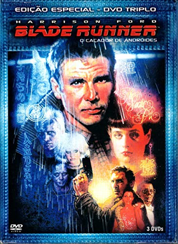 DVD Triplo Blade Runner O Caçador de Andróides